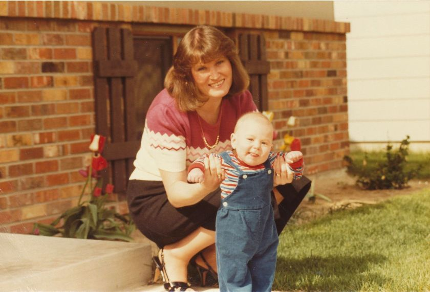 Aaron-mothers day 12May1985